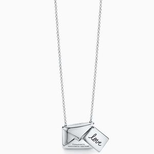 TIFFANY SWEET NOTHINGS LETTER PENDANT